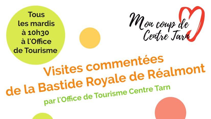 Visites commentées de la bastide Royale de Réalmont