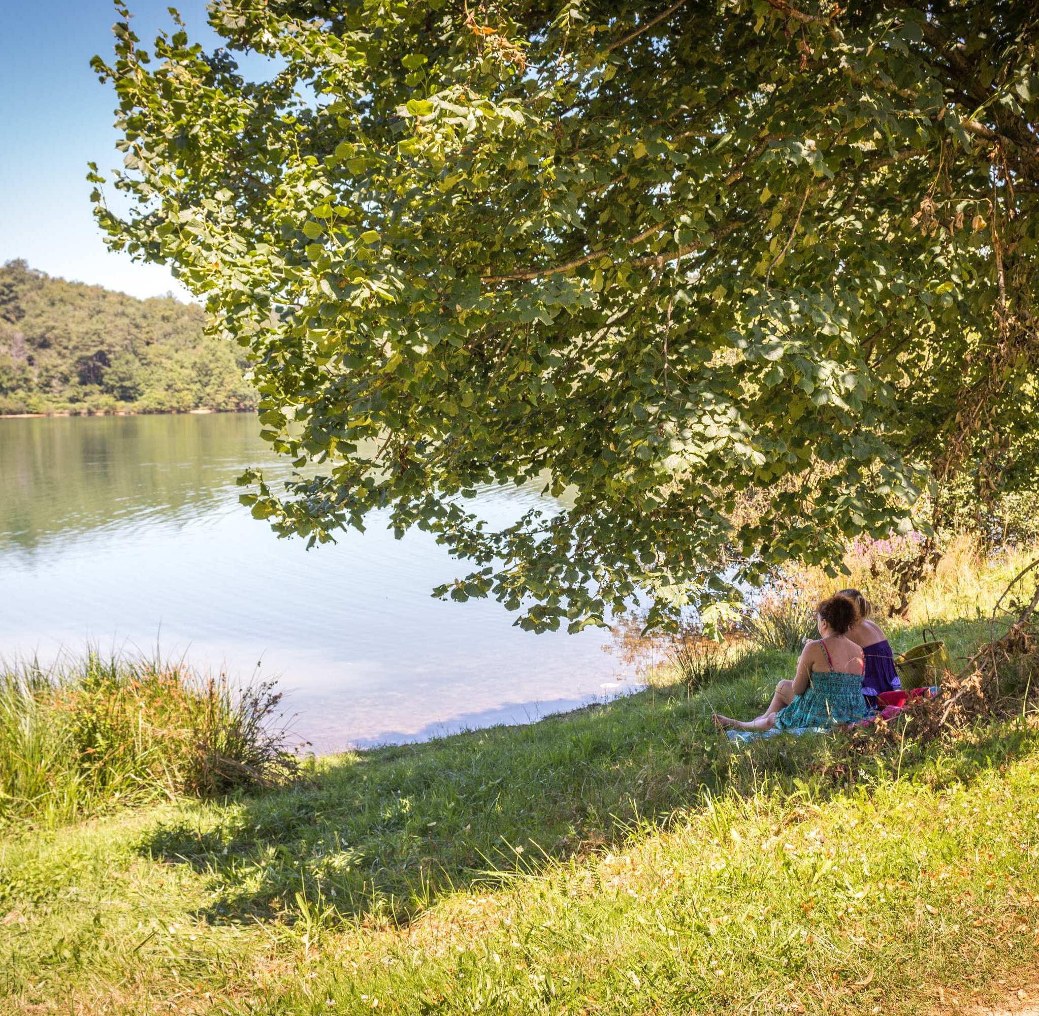 Le lac de la Bancalié